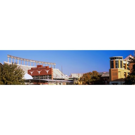 Football stadium in a city Darrell K Royal-Texas Memorial Stadium Austin Texas USA Poster - Party City In Austin Texas