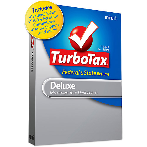TurboTax Deluxe Federal + E-File + State 2009