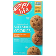 Enjoy Life Cookie Soft Baked Gingerbread Spice Gluten Free, 6 Oz