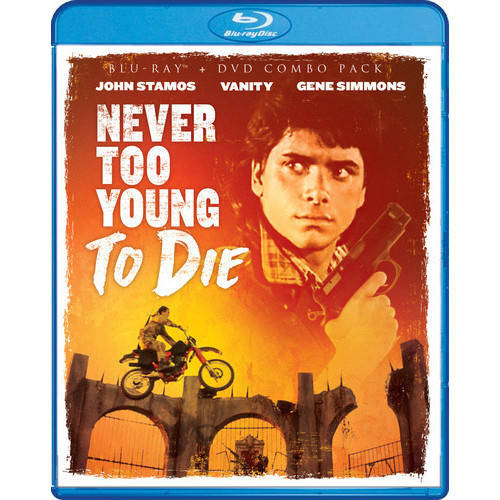 Never Too Young To Die (Blu-ray + DVD) CINBRSF17437