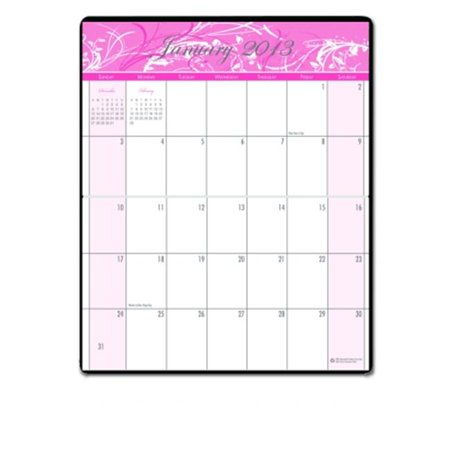 House of Doolittle HOD246 Breast Cancer Aware. Pkt Planner the product will be for the current year for $<!---->
