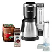 Keurig K-Duo Plus Coffee Maker, with Single Serve K-Cup Pod and 12 Cup Carafe Brewer, Black