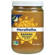 MaraNatha Banana Peanut Butter, 12 Ounce Jar