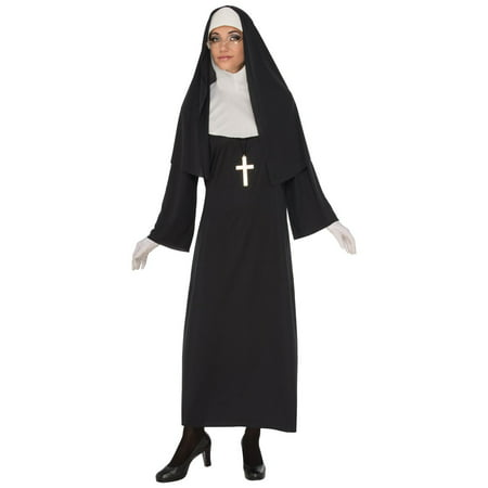 Womens Nun Halloween Costume (Cheap Womens Halloween Costumes Uk)