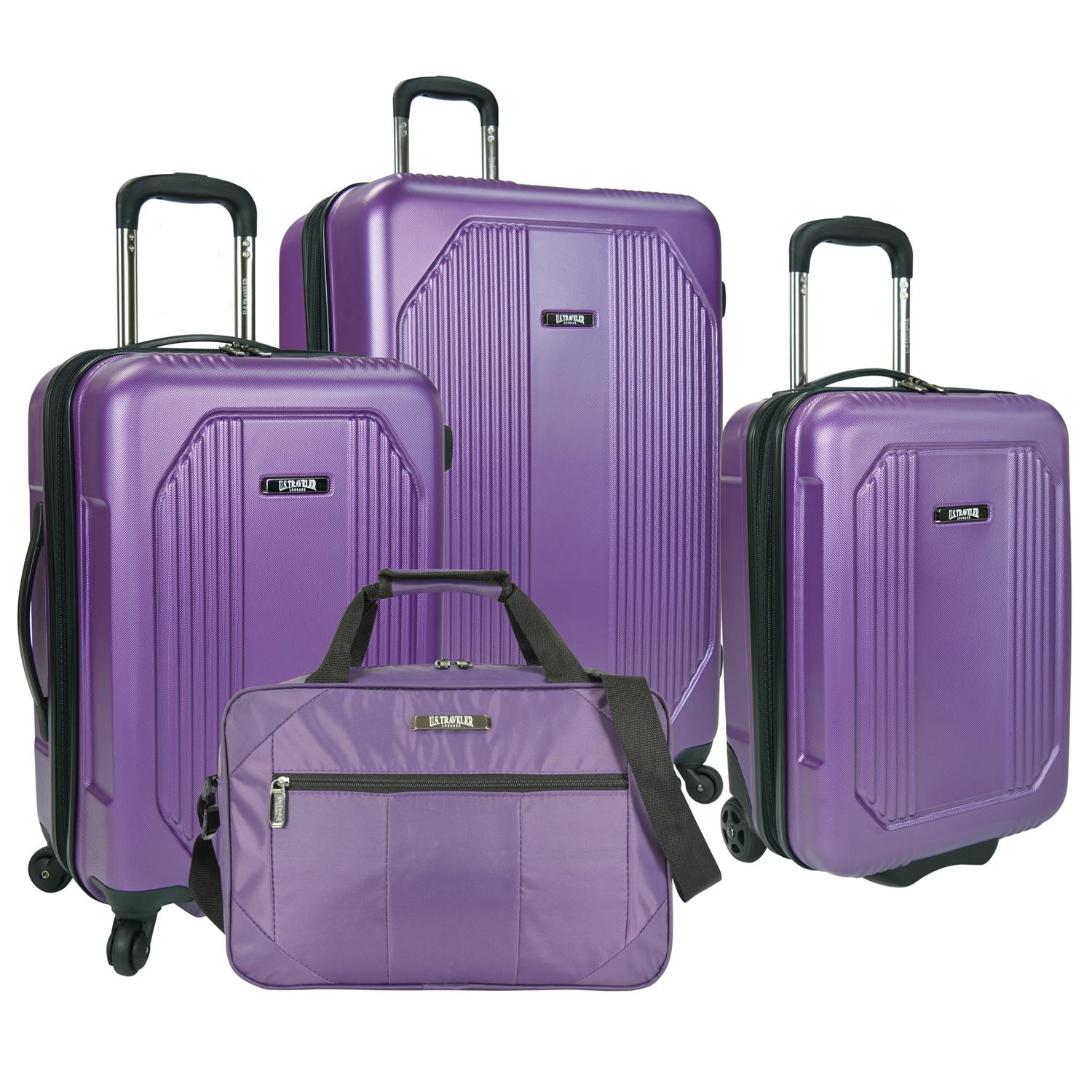 U.S. Traveler Bloomington 4 Piece Luggage Set