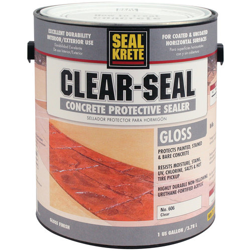 Clear-Seal Gloss Sealer, Clear, 1 gal