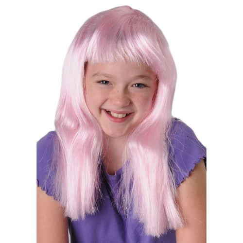 US TOY MU748 Pink Neon Costume Wig