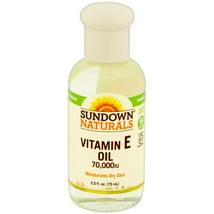 Vitamins & Supplements: Sundown Naturals Vitamin E Oil
