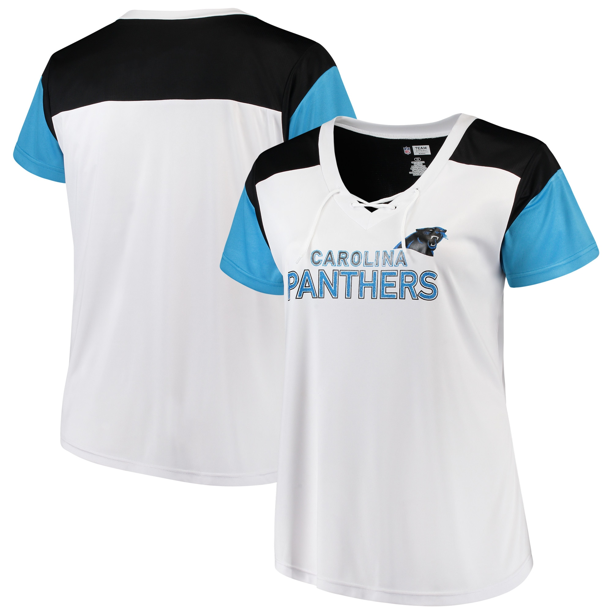 MAJESTIC Pro Grade Shirt-Carolina Panthers Charcoal