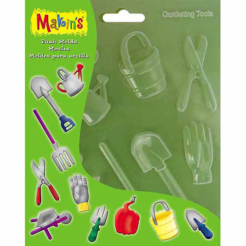 Makin's USA Clay Push Molds