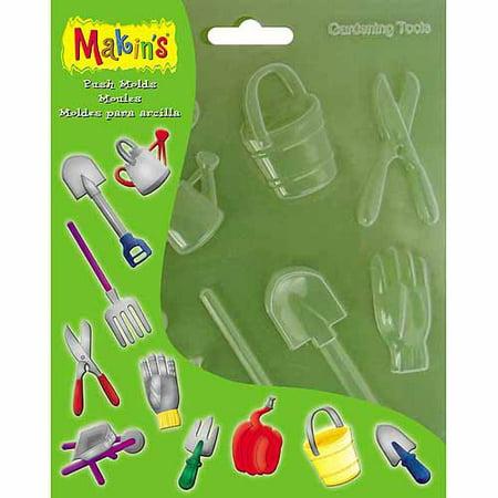 Makin's USA Clay Push Molds -