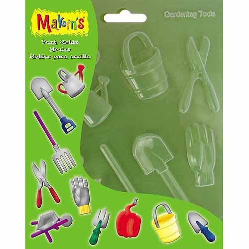 Makin's USA Clay Push Molds