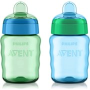 Philips Avent My Easy Sippy Cup 9oz, Blue/Teal, 2pk, SCF553/25