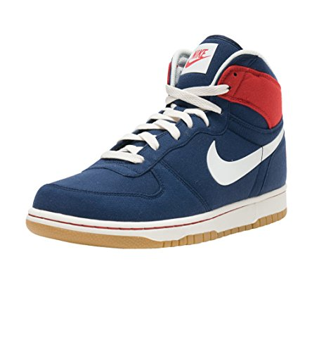 Nike 854165-401 : Big Nike High Lux M Navy Red by