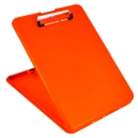Saunders Slimmate Letter Size Clip Board - Orange - Clap Boards