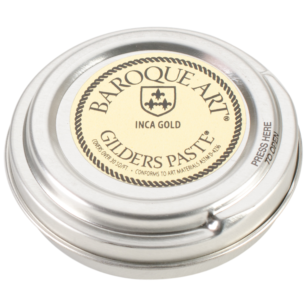 Baroque Art Gilders Paste 1oz-Inca Gold