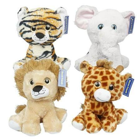 Plush Animals Wholesale (New 214996  Plush Jungle Animals (24-Pack) Cheap Wholesale Discount Bulk Toys Small Candle)