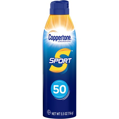 Coppertone Sport Sunscreen Continuous Spray SPF 50, 5.5 oz