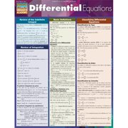 BarCharts 9781423220329 Differential Equations Quickstudy Easel