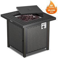 TACKLIFE Outdoor Heating, Propane Fire Pit Table Deals