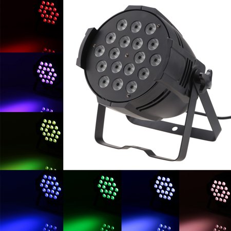 Ez Change 4 Stage (Lixada 200W 18LED 4 in1 DMX512 Sound Activated Auto Running 8 Channels RGBW Color Changing PAR Light Stage Effect Lamp for Disco KTV Club Party )
