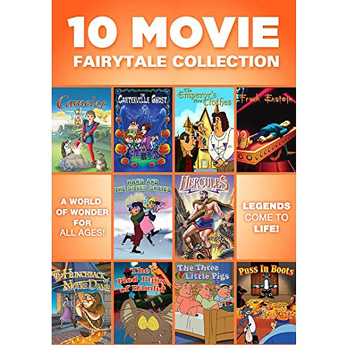 10 Movie Fairytale Collection (Full Frame)