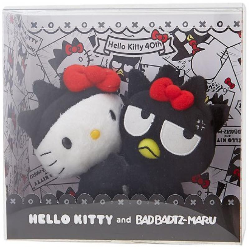 [Hello Kitty]X bad badtz-Maru Kitty 40th anniversary plush