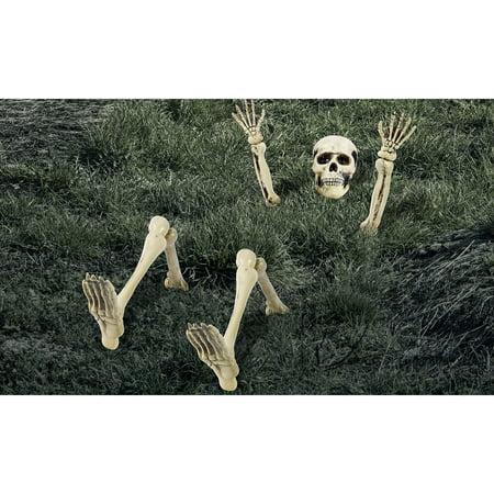 Lawn Skeleton   Halloween Decoration