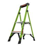 Little Giant MightyLite, Model 4 Ft. Type IA - 300 lbs. Rated, Fiberglass 2 Step Platform Ladder