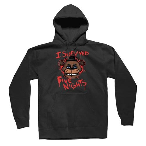 AEVAZZQIA Kids Five Nights at Freddys Hoodie Youth Pullover Sweatshirt for Boys and Girls