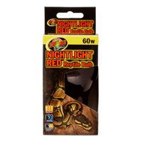 Zoo Med Nightlight Red Reptile Bulb, 60 Watt
