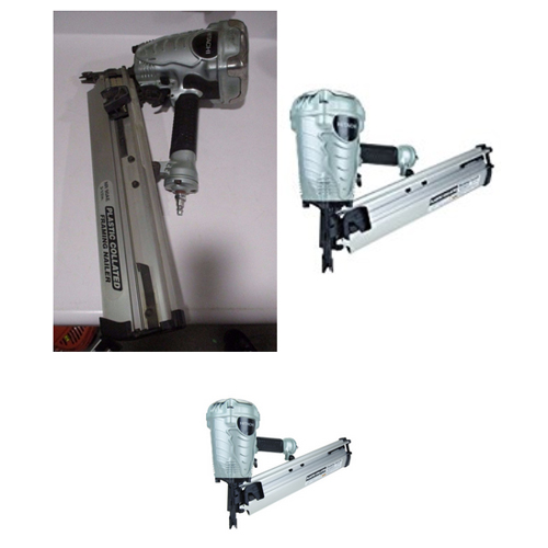 "Hitachi NR90AES1 3-1 2"" Plastic Collated Framing Nailer by Hitachi Power Tools"
