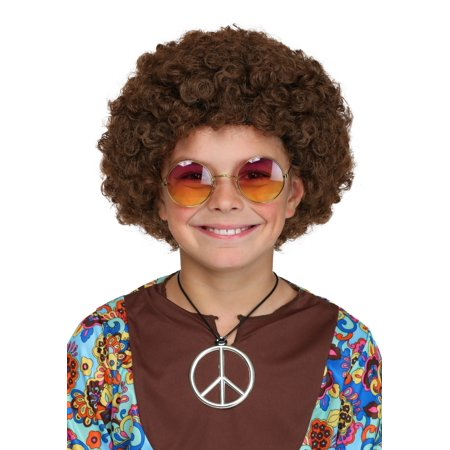 Child Afro Wig - Brown Afro