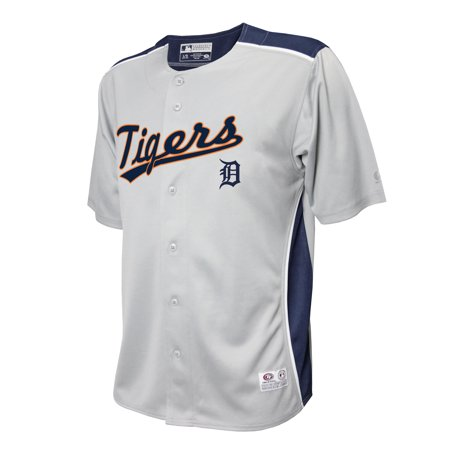 online store daa94 ce3aa MLB DETROIT TIGERS BUTTON DOWN JERSEY