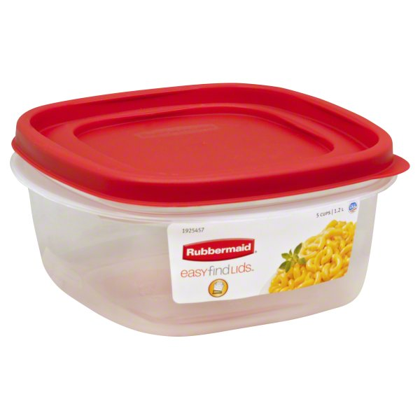 Rubbermaid Easy Find Lids Food Storage Container, 1.5 Gallon