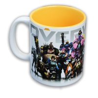 Overwatch Heroes/ Inside Color 16oz Coffee Mug