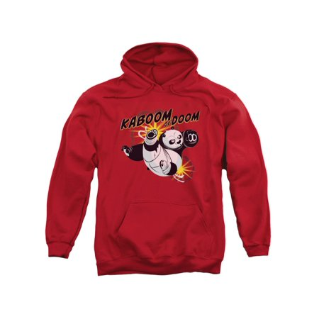 Kung Fu Panda DreamWorks Animated Movie Po Kaboom Of Doom Adult Pull-Over - Animated Halloween Movies For Adults