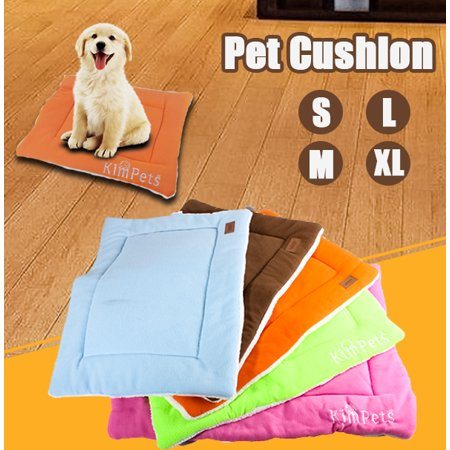 Rubber Kennel Mats - Extra Large Dog Cat Pet Beds Washable Soft Comfortable Warm Bed Mat Padding House  Sleep Crate Fleece Kennel Cushion Pet Blanket Bed Mats S M L XL