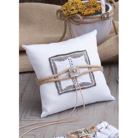Jamie Lynn Big Sky Ring Pillow