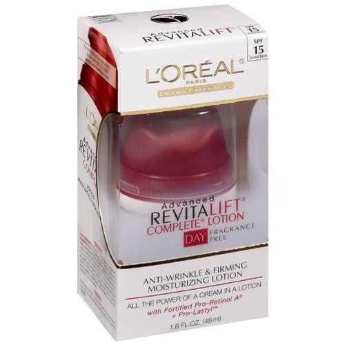 L'oreal Paris: Daytime Fragrance Free Anti-Wrinkle & Firming With Spf 15 Facial Moisturizer, 1.60 fl oz