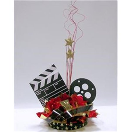 Awesome Events HMV04G9 Movie Night Centerpiece, 2 Pack