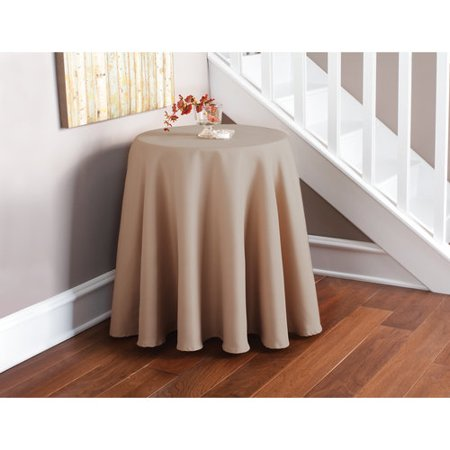 Mainstays Round Microfiber Table Cover Walmart Com