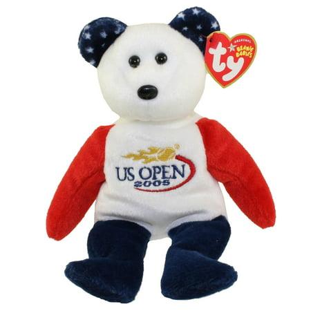 Ty Beanie Baby   Smash The U S  Open 2005 Bear  9 Inch