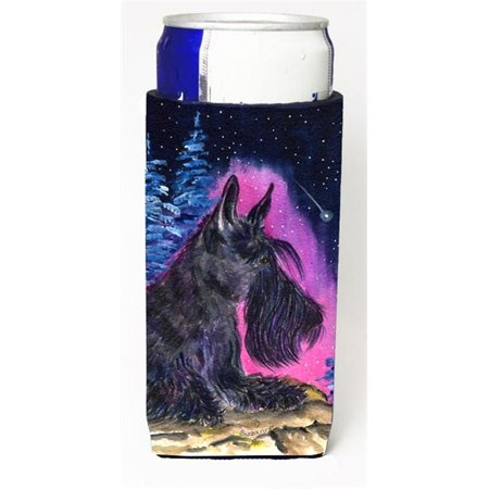 Starry Night Scottish Terrier Michelob Ultra bottle sleeves for slim cans 12 oz. - image 1 de 1