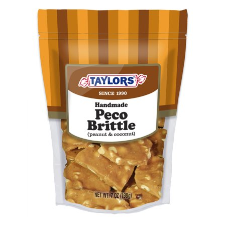 Brittle Candy - (4 Pack) TAYLORS CANDY PECO BRITTLE - GUSSET BAG