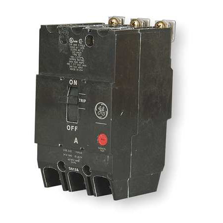 GENERAL ELECTRIC Bolt On Circuit Breaker,40A,3 Pole,TEY TEY340