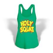 Stronger RX Green Holy Squat Tank Women Vest, Small