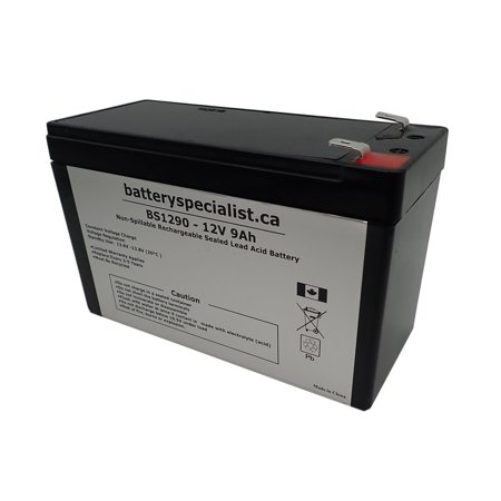 12V 9AH Sealed Lead Acid Battery Replacement for B&B BB BP8-12 - image 2 de 2