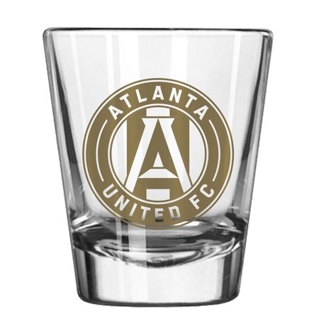 Atlanta United FC 2oz. Collectible Game Day Shot Glass - No Size](Customized Shot Glasses Cheap No Minimum)
