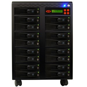 SySTOR 1:16 SATA Hard Disk Drive (HDD SSD) Duplicator Sanitizer High Speed(150mb sec) (SYS2016HS) by Systor